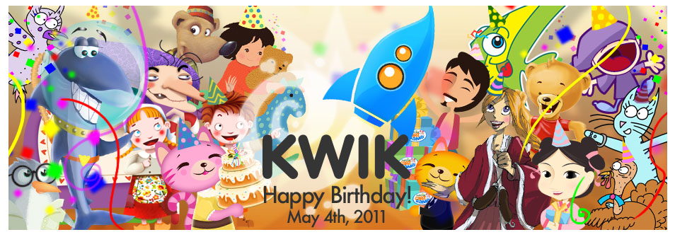 Banner Anniversary Kwik