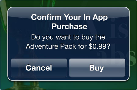 Kwik In App Purchases